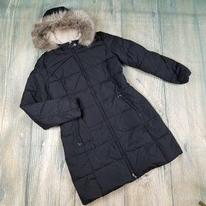 New RALPH LAUREN down and feather quilted parka